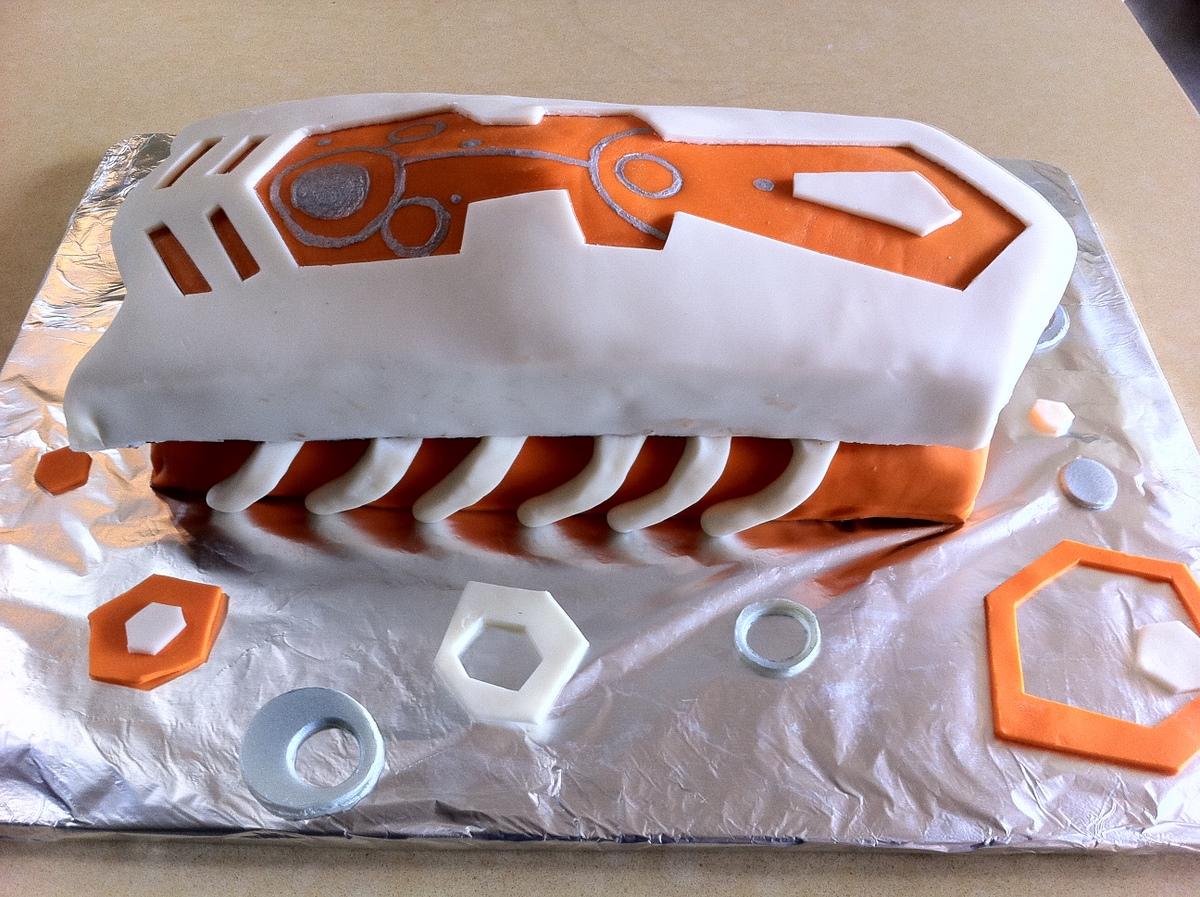 Hexbug Birthday Cake