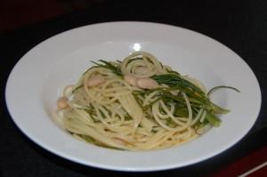 Agretti Spaghetti