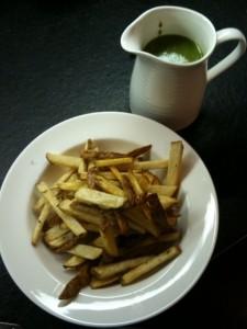 salsa fries