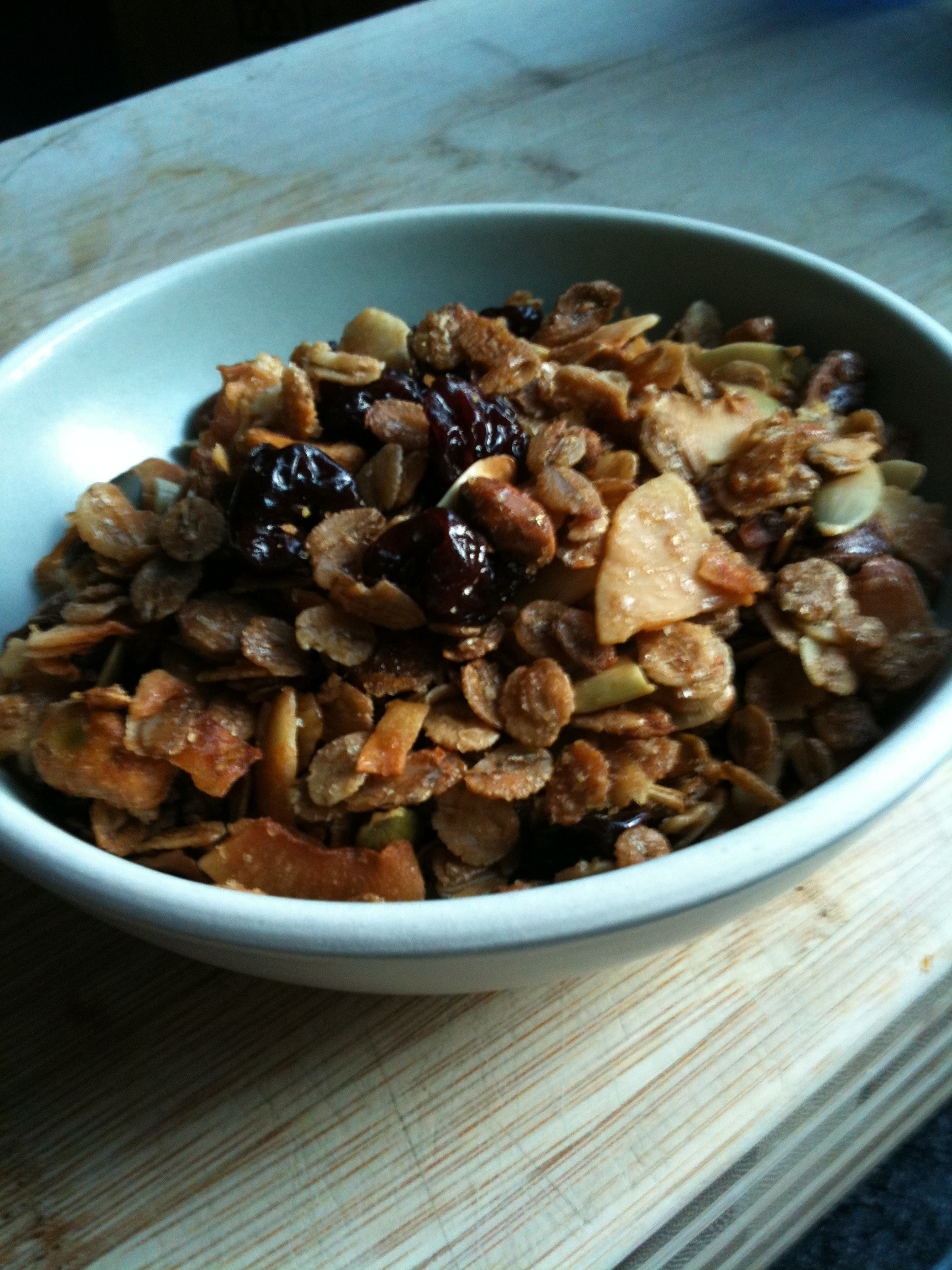 A New Granola – Learning to Eat